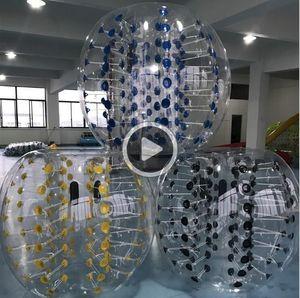 verrückter Sportball 1.2m menschlicher iatable Auto Ball im Freien Kinder-Spiel SOCR Ball PVC-Blase Bällen iatable Zorb Ball spielen