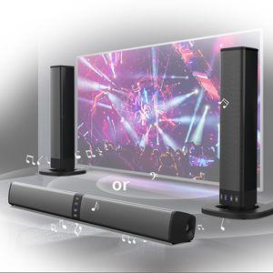Soundbar BS36 Проводной и беспроводной Bluetooth 4.2 динамик для телевизора, звуковая панель с сабвуфер Sound Bar TV ноутбук