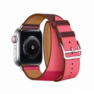 Top Quality Watch Strap for watch Band Leather Loop 40mm 44mm 42mm 38mm Series 4 3 2 1 Epacket Free