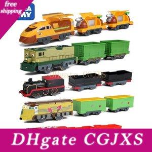 Takara Tomy Chuggington Motorizado Modelo do trem elétrico Dunbar / Harrison / Koko / Chugger / Chatsworth / Frostini