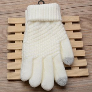 Touch Screen Magic Gloves Unisex Male Female Stretch Knitted Gloves Mittens Hot Warm Accessories Xmas Gift