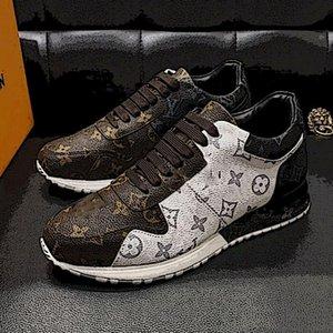 Louis Vuitton Las zapatillas de deporte precio cuero blanco zapatos de plataforma MEJOR Luxe Diseño Best alta calidad hombres de moda zapatos planos casual de la boda del partido