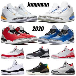 2020 أحذية Jumpman إمرأة رجل كرة السلة ليزر أورانج UNC الأحمر أسمنت اسكواش الملكي الأزياء جزء DNM النار الأحمر شيكاغو المدربين أحذية رياضية