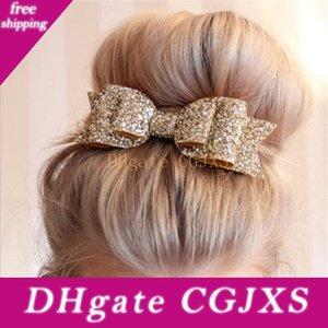 Женщины Девушки в японском стиле Боковой зажим для волос Hollow Геометрическая Water Drop Форма Утконос Hairgrips разноцветного мрамора текстурированные Отпечатано
