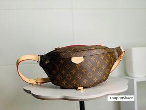 2020 best quality letter genuine Leather handbag classic men message women belt bag 47-20-9cm M44336