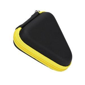 300pcs Triangolo multi colore Fidget Spinner sacchetto di mano Spinner Giocattoli Auricolare Bluetooth sacchetti di immagazzinaggio compressione container casse portatili