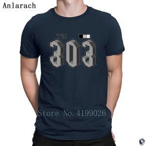 Tb 303 tshirt grande personalità in cima grafico maglietta per gli uomini 2018 Normale Anlarach streetwear