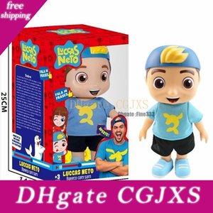 Doll Luccas Neto Action Figure Toys Vinyl 25cm Model Sound Talking Children Kids