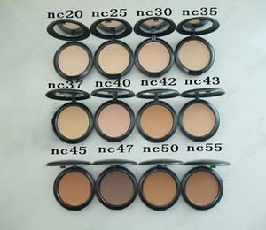 Makeup Powder Plus 15g Powder Foundation Imprensa clareamento da pele Todos NC 12 cores para chooes ePacked envio