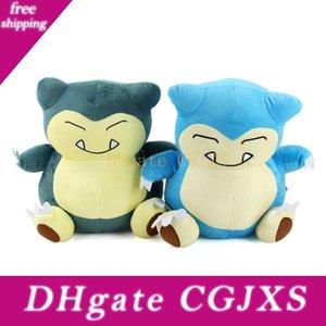 29 cm Cartoon Anime Snorlax Plüschspielzeug Softkuschelkissen Tiere Puppe Geburtstags-Geschenke für Kinder