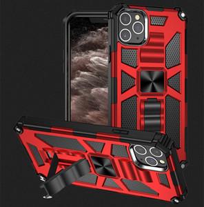 Handy-Fälle rückseitige Abdeckung Ständer Halter Anti-Sturz-Serie Militärrüstung Handy Schutzhülle für das iPhone 12 Neuen 11Pro Max XS XR