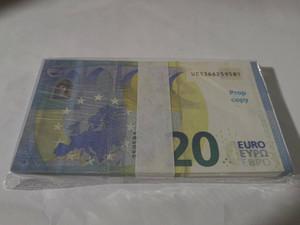 Евро Поддельные деньги Банкноты Prop Бумажные деньги 20 евро счетов Цены банкнота Бизнес подарки для мужчин Фиктивный бумажных денег для коллекции 04