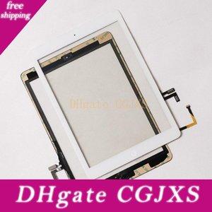 높은 품질 Ipad에 공기 5 터치 스크린 유리 패널 디지타이저 버튼으로 접착 조립 iPad 용 에어 아이 패드 2 3 4 5 미니 20 PC를