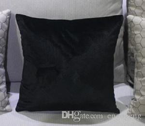 Coussin de coussin 45x45cm sans oreiller zircon pierre mode Velvet oreiller de bonne qualité couverture de cas