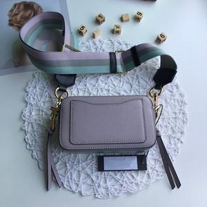 2020 nouveau sac sac photo polyvalent de femmes mode de vente chaude peau de vache femmes couleur unie large de l'épaule unique à bandoulière Messenger Bag