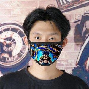 Double Face Cartoon Gratuit Tissu Facemasks Dhl Ice Masque Tapabocas Expédition Masque Masque Soie 0620 Fighterz Cute Girl exFua beauty888
