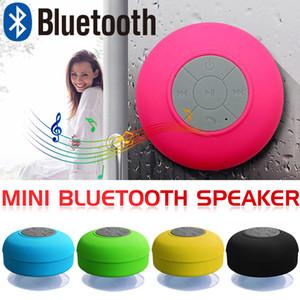 New suction cup Portable Waterproof Wireless Bluetooth Speaker multifunctional bathroom Car Handsfree Receive Call Mini Subwoofer Speakers