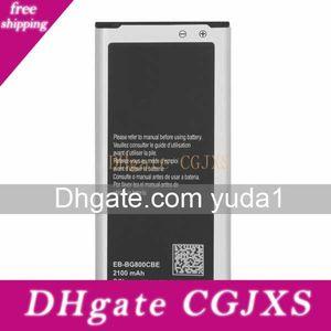 Original Oem S5 Mini Eb -Bg800cbe G800f Mobiltelefon-Batterie 2100mAh Freier Verschiffen-Groß