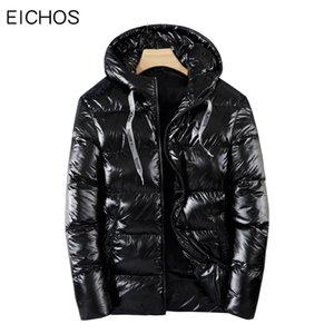 Top qualité Manteau d'hiver Hommes électriques chauffants Vestes Parka Solide Couleur Casual Zip Up Hooded Down Jacket Men Plus Size 4XL Parkas
