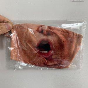 Mascherine Cara máscara máscaras diseñador reutilizable de algodón niños Maske adultos PM2.5 filtro de carbón activo lavable elástico del oído ajustable correas