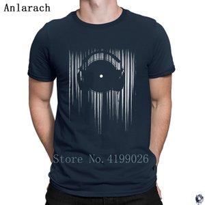 Vinyle T Shirtss Confortable HipHop Top excentrique famille tshirt hommes Création des costumes Anlarach 2018
