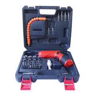 47pcs Set Electric Drill Driver sets electric screw driver screwdriver Rechargeable wirelless Practical Power Tools Accessories
