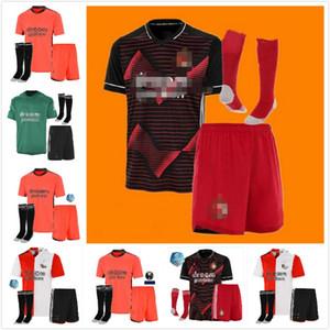 Kits camisa Berghuis Jersey Juvenil Feyenoord niños Calcetines de fútbol Conjunto Narsingh VILHENA LARSSON Clasie PERSIE Berghuis JORGENSEN KOKCU Fútbol