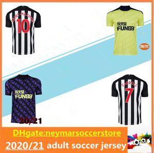 0 21 NUFC Fußball-Trikots Shelvey 2020 2021 Joelinton ALMIRON RITCHIE GAYLE maillot de-Fußball-Hemd