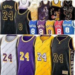 NCAA Lower Merion 24 Bryant Basketball Jersey Black Mamba Iconic Maillots Los AngelesLakersMaillots Lebron James Anthony Davis