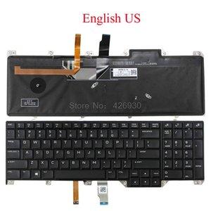 For Alienware 17 P31E İngilizce Japonca Almanca Latince İspanyolca yeni İçin Dizüstü ABD SP JP GR UK LA FR IT KR TW KD-GB Klavye