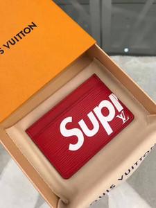 2020 billetera de cuero de lujo de los hombres calientes Monedero corto carteras caja de tarjeta monedero MT titular de la cartera de regalo paquete de envío libre