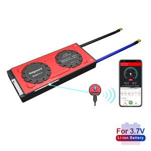 18650 smart BMS 13S 48V 80A 100A 120A Bluetooth 485 to USB device NTC UART software togther Lion LiFepo4 Battery BMS