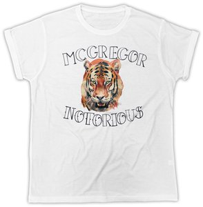 CONOR MCGREGOR LION TATTOO BOXING BIRTHDAY PRESENT IDEAL GIFT COOL T-SHIRT Gift Print T-ShirtHip Hop Tee ShirtNEW ARRIVAL Tees