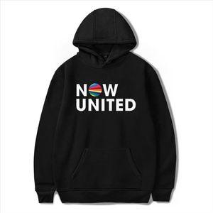 2020 Now United Better Album Hoodie Sweatshirts Men Women Better Now United Lyrics Pullover Unisex Harajuku Tracksui