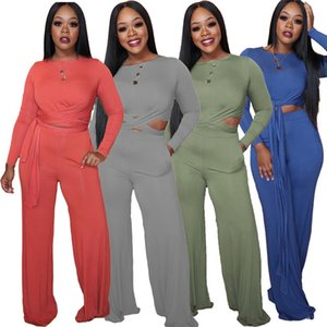 womens 2 piece set tracksuit shirt pants outfits long sleeve sportswear shirt trousers sweatsuit pullover tights sportswear very klw5058
