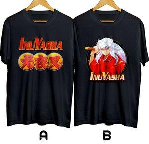 Inuyasha Japanese Adventure Manga Anime T-shirt Cotton 100% Size S-XL