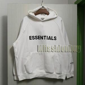 Avrupa Amerika Sonbahar Kış 7 toplama Oversize Essentials Hoodie Kaykay Gevşek Hoodie Hoody Kapşonlu Sweatshirt Soğuk