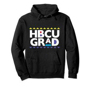 Black College HBCU Grad Pullover Hoodie