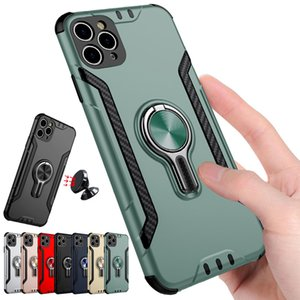 Luxury Phone Case with Ring bracket For iPhone11Pro Max XS Max X 8 7 Plus SE Back Cover