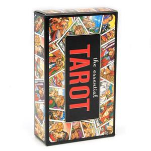 78pcs do baralho de tarô Essencial Jogo Toy Adivinhação O Book Essential e cartão Set desvendar os segredos da Antiga e Mística