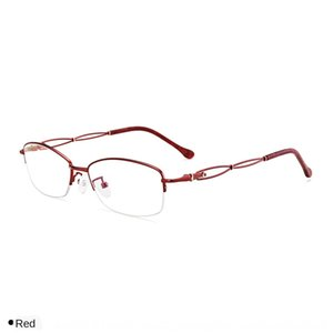 La miopía gafas de la miopía de las mujeres electrodepositadas de dos colores marco 1085 gafas de metal marco de alta gama de moda media
