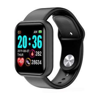 Apple iOS 스마트 팔찌 스포츠 시계에 대한 방수 남성 및 여성 스마트 심장 박동 심장 박동 모니터 USB 충전 택시없이 직접 충전