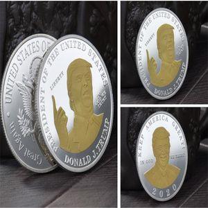 Hot DONALD TRUMP MAKE AMERICA GREAT AGAIN COMMEMORATIVE COIN PROOF VALUE