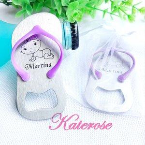 (30pcs / lot) + partido personalizado do bebê TRANSPORTE LIVRE Giveaway personalizado LOGO falhanço Garrafa Lembrança Aniversário do bebê Opener