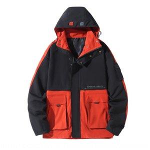 Vêtements à la mode trench-vêtements gras coton rembourré taille plus lâche mi-longueur hommes de trench-coat extra large manteau rembourré de coton hommes de graisse