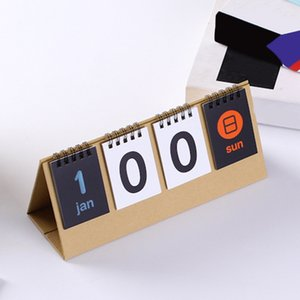 2020 Perpetual Flip Students Countdown Standing School Home Office Desk Calendar