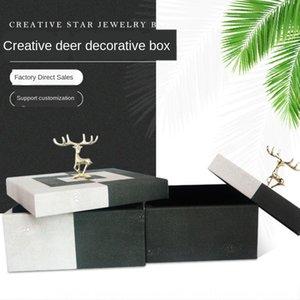 Nordic Lightjewelry modelo de caixa de armazenamento de sala de estar quarto decoração da caixa de armazenamento de desktop acampamento Nordic direta acampamento lightdirect vendas zzPVA ZZP