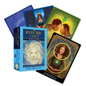 Tarot Deck Karten Familie Divination Spiel Psychic Brett Partei Oracle Das Schicksal Karte Englisch 65 und Reiseführer Spielen bbywtR bdetoys