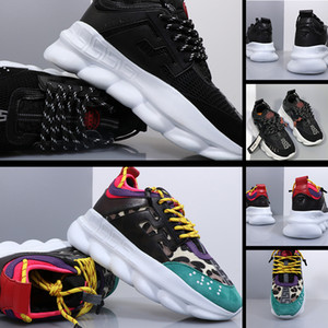 hit color trend pattern platform shoes men and women shoes casual round toe outdoor sports shoes