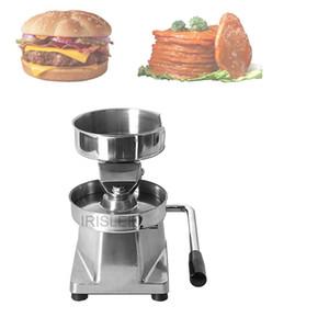 Manuelle Hamburgerpresse Burger-Hersteller-Maschine Runde Fleisch Shaping Aluminium Forming Burger Patty Meat Pie Maker-Küche-Werkzeug